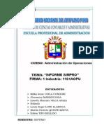 Informe Final Simpro 2014