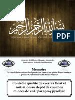 PPT de Soutenance Master Par BACHIR Samir Et LARAB Bilal 2012 - 2013