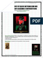 53416952 a Brief History of Black Nationalism and RBG s Current Academic Contributions
