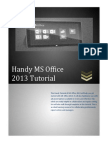 04 Handy MS Office 2013 Tutorial