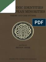 The Ethnic Identities of European Minorities
