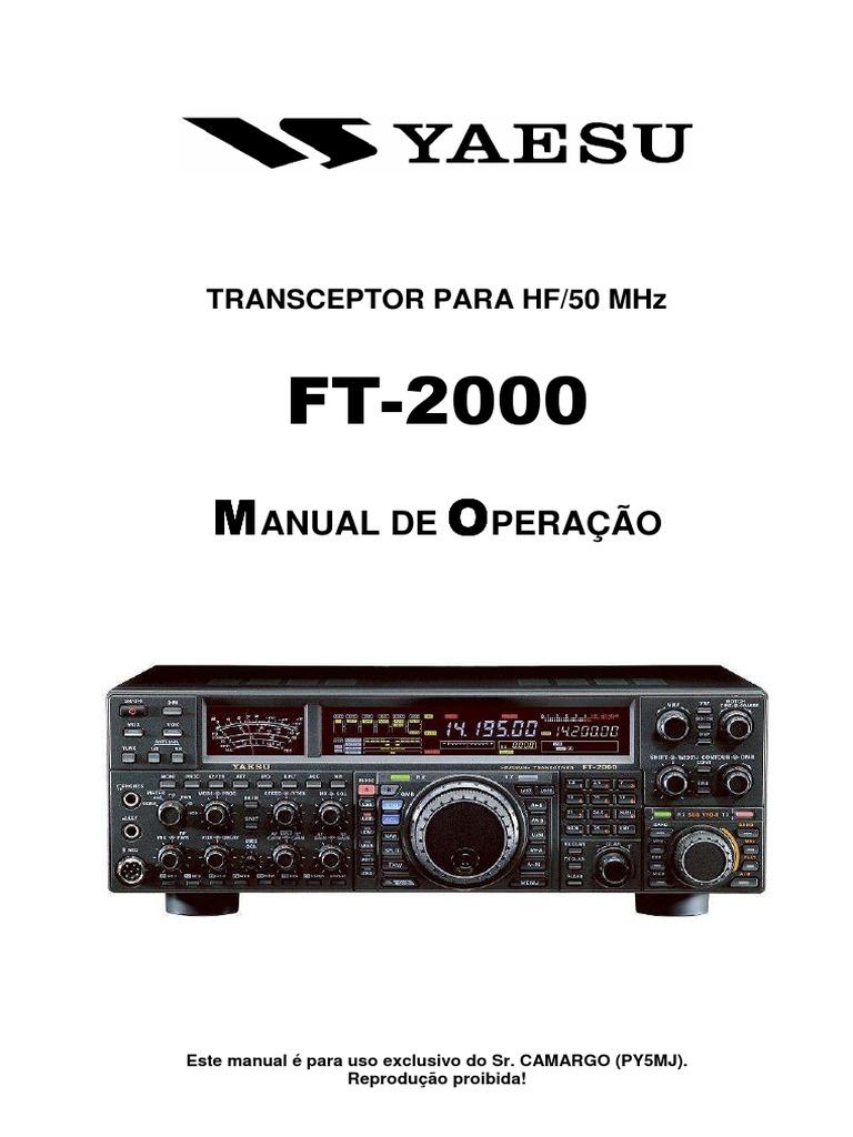 Manual+FT-2000+portugues