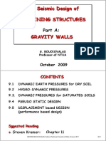 Geot Earthquake Eng Ch9A WALLS SH ADERS 10