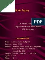Kuliah Brain Injury Unmuh