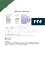 NSRF Newsletter Oct 2008