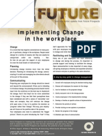 Implementing Change in the Workplace