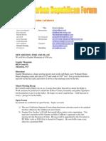 NSRF April 2008 Newsletter