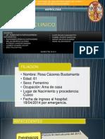 Caso Clinico Les Exposicion - NEFROPATIA SECUNDARIA .