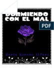 Durmiendo Con El Mal - María Moreno Alfaro