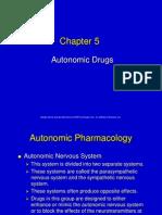 5 Autonomic Drugs