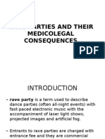 rave parties and their medicolegal consequences