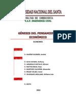 Génesis Del Pensamiento Económico
