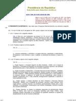 Lei 7804-89 - Agrotóxicos - Mau Uso
