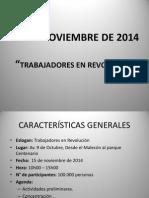 Protocolo Movilización - 15 de Noviembre de 2014