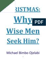 Christmas - Why Wise Men Seek Him
