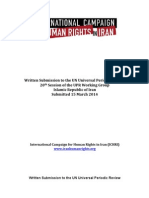 The Campaign's 2014 UPR Submission