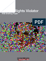 New Report Reveals Iranian TV's Continued Human Rights Violations