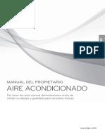 Manual aire minisplit LG -Spanish