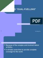 """Ecdis """"dual Fuelling"""""""