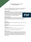 December PTA/FOB Minutes