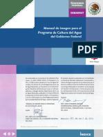 Manual de Imagen Del Programa Cultura Del Agua