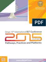 Www.eltconf.com Eltconf15 Conference Brochure 2015a