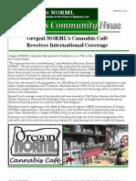 Cannabis Community News
