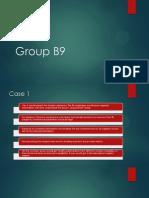 Group B9