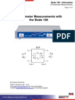 S-Parameter Measurements