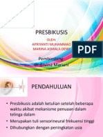Slide Presbikusis