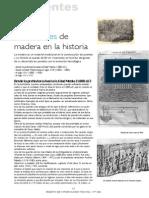 Los Puentes de Madera en La Historia
