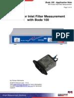 RFI Power Inlet Filter