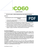 Eco 60 Rules V3 15-06-10
