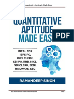 Quantiatative Aptitude Sample