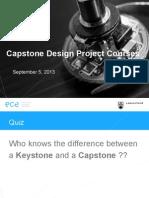 13 09 05 Capstone Introduction