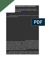 Derrida- Cierta Posibilidad Imposible de Decir El Acontecimiento