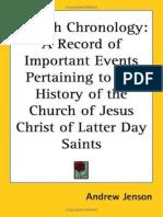 Church Chronology - Andrew Jenson