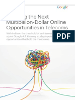 Creating the Next Multibillion-Dollar Online Opportunities in Telecoms
