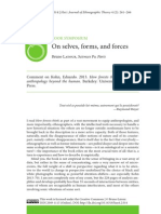 On Selves, Forms and Forces Latour Review How Forest Think