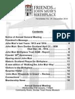 FoJMB Newsletter 2014 12