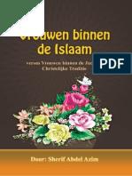Vrouwen binnen de Islaam versus Vrouwen binnen de JudaeoChristelijke Traditie.