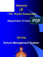Documentation of School M S