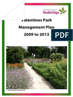 Valentines Management Plan