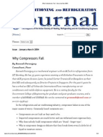 Why Compressors Fail - Issue Jan-Mar 2004