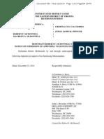 Bob Mcdonnell Sentencing Appendix One