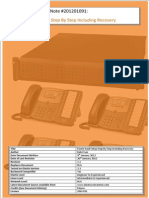 Elastix Application Note 201201091 Elastix RAID Setup Step by Step Including Recovery