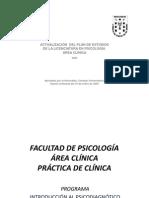Psicodiagnóstico 2014