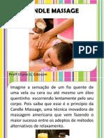 Candle Massagem