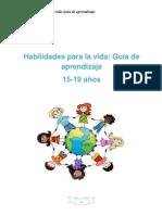 Guia  Habilidades para la vida Completa 15-19 ESPAÑOL