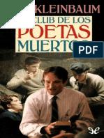 Club de Los Poetas Muertos, El - Nancy H. Kleinbaum